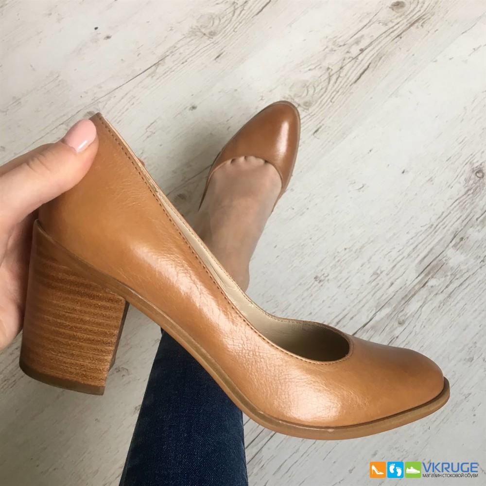 Туфли женские из натуральной кожи San Marina 36 размер (арт. 2587) фото №1