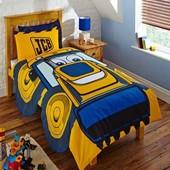 Детское постельное белье Экскаватор JCB для мальчика