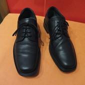 Супермягкие туфли р. 40 Claudio Conti, натуральная кожа.