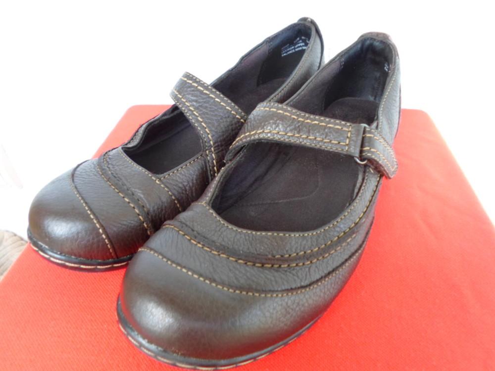 Туфли кожанние Clarks bendables р. 40 фото №1
