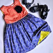 Нарядное платье Miniclub 2-3года