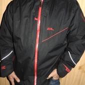 Брендовая спортивная деми зимняя курточка No Fear (Ноу Фиар) хл-2хл .