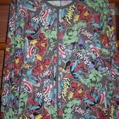 Пижама хлопковая, L/XL рост до 185 см