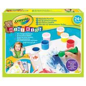 Набор для творчества с кисточкой Рисуем красками Crayola Mini Kids