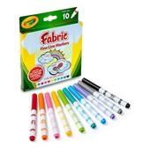 Crayola Маркеры для рисования на ткани 10 цветов fine line fabric markers 10 count