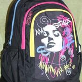 Школьный городской рюкзак Kайт Beauty для девочки средние-старшие кл. Реал фото!
