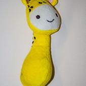Игрушка жираф погремушка