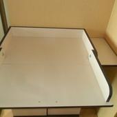 Пеленальный стол трансформер накладка на комод тумбу