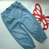 Джинсы,брюки утеплённые в горох M&Co (1,5-2 года)
