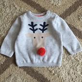 свитер M&S 3-6м