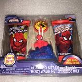 набор для душа Человек паук  Marvel (оригинал) 4 ед.