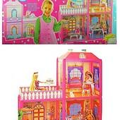 Домик для кукол 70*63*51.5см 6984