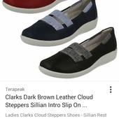 туфли,тапки, балетки Clarks cloud steppers soft cushion