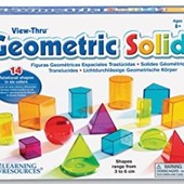Геометрические фигуры Geometric Solids от Learning Resources