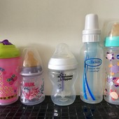 Любая бутылочка и поильник за 40 грн.Chicco,Tommee tippee,Nuk,Dr.Brown's