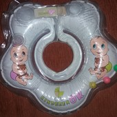 Круг для купания KinderenOK Baby с погремушкой