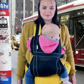 Летний эрго рюкзак-переноска Free Air 3D