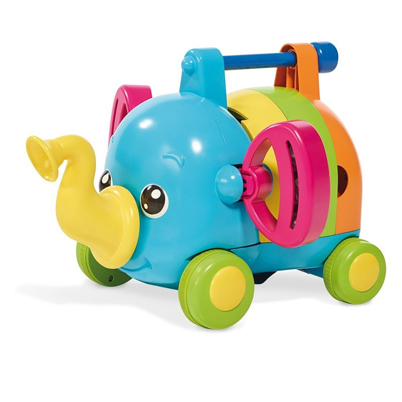 Развивающая игрушка музыкальный слоник tomy фото №4