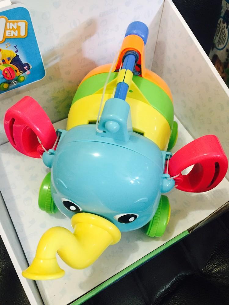 Развивающая игрушка музыкальный слоник tomy фото №6