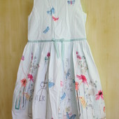 Платье  Next   9  лет, рост 134 см. Состояние новой вещи!!!