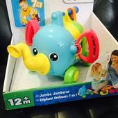 Развивающая игрушка музыкальный слоник Tomy