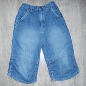 Джинсовые шорты Adams на 128см в хорошем состоянии