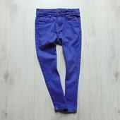 Яркие узкие фиолетовые джинсы. Denim Co. Размер 4-5 лет