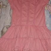 Летнее платье-туника на 2-3 года