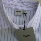 Asos новая рубашка полоска 38-размер