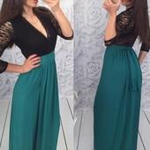 Женское платье вечернее в расцветках с,м,л (2б