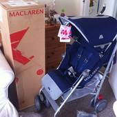Макларен  Maclaren прогулка трость синяя