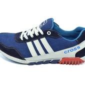 Кроссовки мужские Cross Fit 23 синие