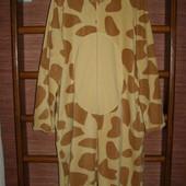 Пижама флисовая,размер L рост до 190 см