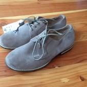 Kiabi новые крутые замшевые туфли 40,42р. Самая низкая цена