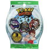 Yokai Watch Mystery bag of 3 medals Йокай воч медали