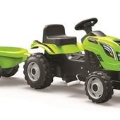 Трактор педальний з прицепом Farmer Xl Smoby 710111