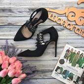 Стильные туфли Asos с декоративной шнуровкой и открытыми боковинами  SH26151
