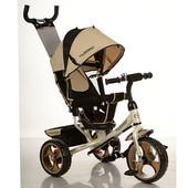 Детский трехколесный велосипед M 3113-9, EVA колёса, золотистый