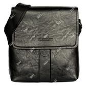 Удобная сумка для мужчин через плечо эко-кожа (105-1)