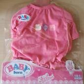 Одежда для Беби Борн (Baby Born) розовый костюмчик