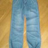 Новые! Подростковые джинсы (алладинки) на лето 22 размера