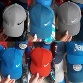 "Кепка""Nike"",""Adidas"",""Armani"".54р.Новая коллекция."