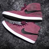 Брендовые замшевый  кеды - Nike - eur 40 - стелька - 25 см - Индонезия