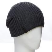 Мужская двусторонняя зимняя шапка-чулок 55-58, разные цвета