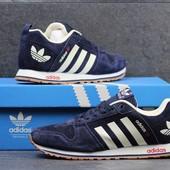 Кроссовки  Adidas темно сині