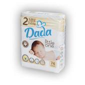 Подгузники Дада (Dada) Little one 2 mini (3-6 кг) 74 шт в наличии