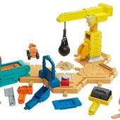 Fisher-Price Стройплощадка Боб Строитель c кинетическим песком bob the builder mash & mold construct