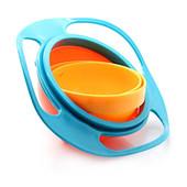 Детская тарелка-непроливайка Gyro Cup
