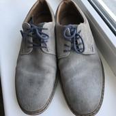 Туфли Rieker р.40 (27 см) Замша