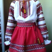 вишиванка, костюм вишиваний, для дівчинки
